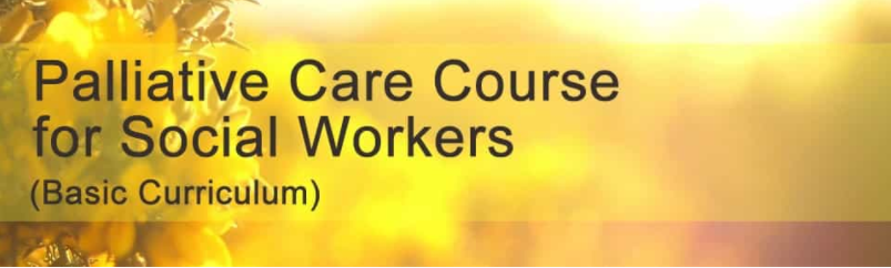 Palliative Care Course for Social Workers